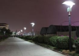 6W T-18A Solar Light Reflective Lamp Post | Trade Reaction