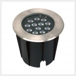 In-ground Tapered LED Lighting