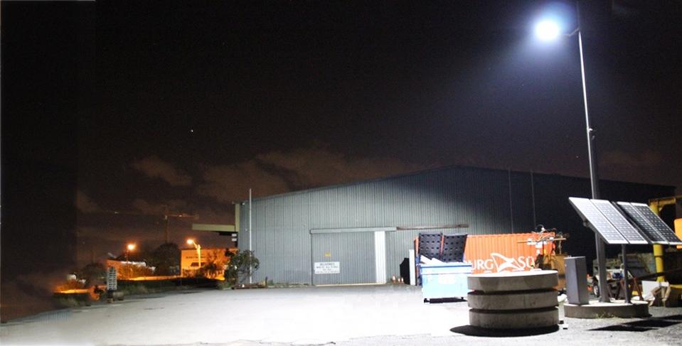 Mining Light at Night