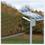 Decorative Solar Light Lamp Post