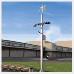 Decorative Solar Light Lamp Post