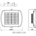 SR-JRE3-120 size