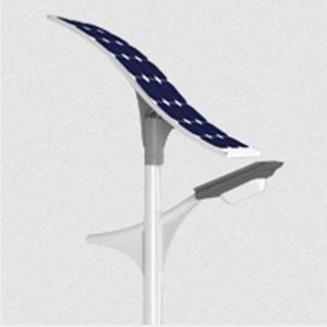 20W T-72 Solar LED Light Pole