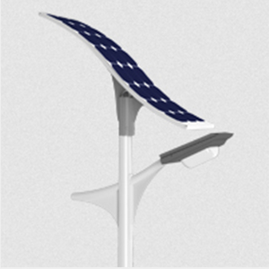 20W T-72 Solar LED Light Pole