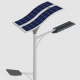 80W T-66 Solar LED Light Post