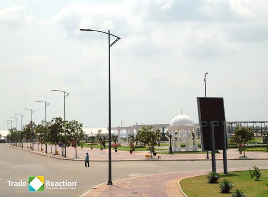 City road lighting - Cambodia diamond island | Trade Reaction